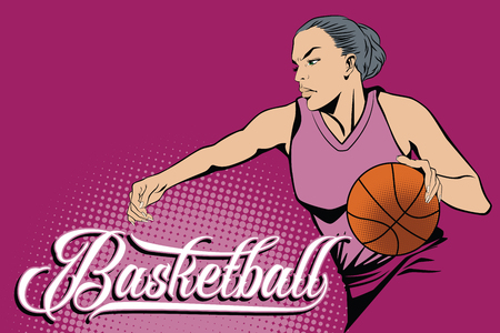kinds: Summer kinds of sports. Basketball. Stock Photo