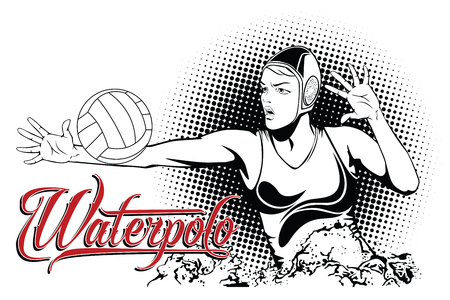 Zomer allerlei sporten. Waterpolo.