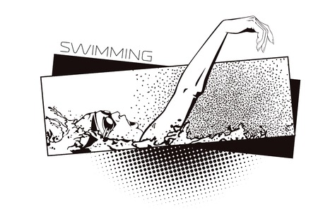 kinds: Summer kinds of sports. Swimming.
