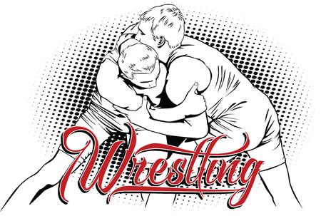 kinds: Summer kinds of sports. Wrestling.