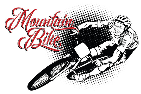 16558 Mountain Bike Cliparts Stock Vector And Royalty Free