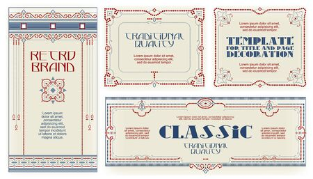 Template advertisements, flyer, web, wedding  and other invitations or greeting cards. Happy holiday. 일러스트