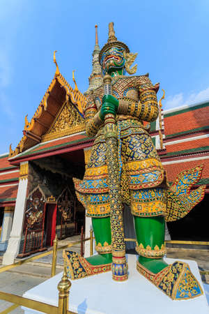 gardian: The gardian giant at thai temple