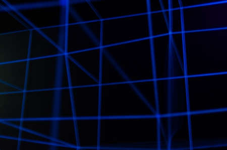 tron: Abstract blue diagonal lines on black background
