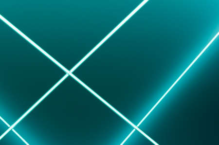 tron: White glowing lines on light green background