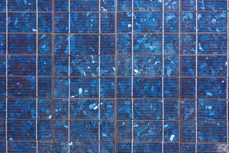 pannel: Abstract image of blue solar panels detail, to produce electricity from the sun