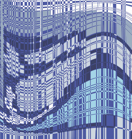 Abstract image of a multi-storey glazed building in the city
