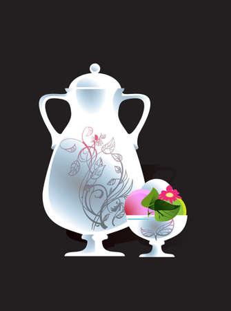 Image jug of juice and ice cream to the  menu