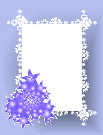 Silver Christmas background with shiny  Christmas tree Illustration