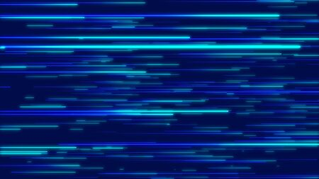 Blue abstract radial lines geometric background. Data flow. Explosion star. Optical fiber. Motion effect. Background