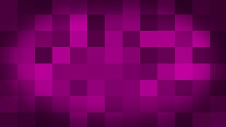 Pink motion abstract background colorful pixels flashing and switch. Animation background glowing of mosaic tiles. Moving technologic squares with shine light. Abstract Red Squares background Stock fotó - 133804790
