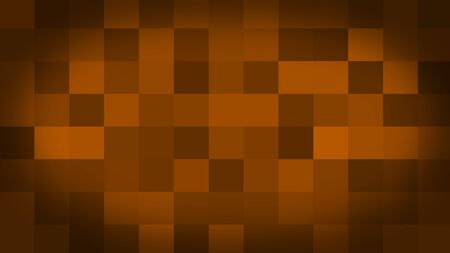Orange motion abstract background colorful pixels flashing and switch. Animation background glowing of mosaic tiles. Moving technologic squares with shine light. Abstract Red Squares background Stock fotó