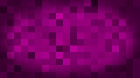 Pink motion abstract background colorful pixels flashing and switch. Animation background glowing of mosaic tiles. Moving technologic squares with shine light. Abstract Red Squares background Stock fotó - 133804795
