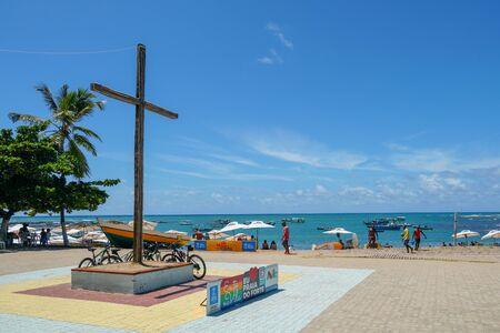 February 22, 2019: Praia Do Forte Beach, State of Bahia, Brazil.
