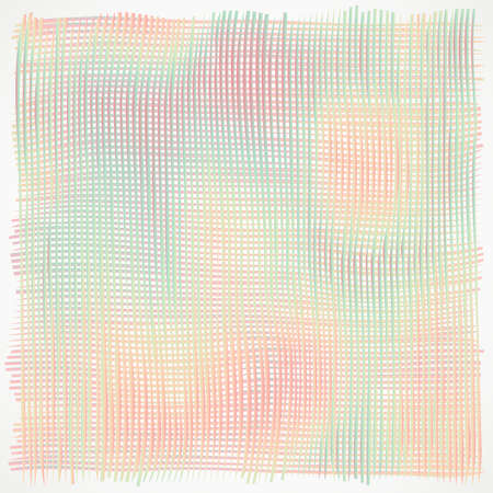 peachy: The sinuous lines are repeated the structure of multi-colored fabric that is perfect for unobtrusive background of posters, banners and cards.