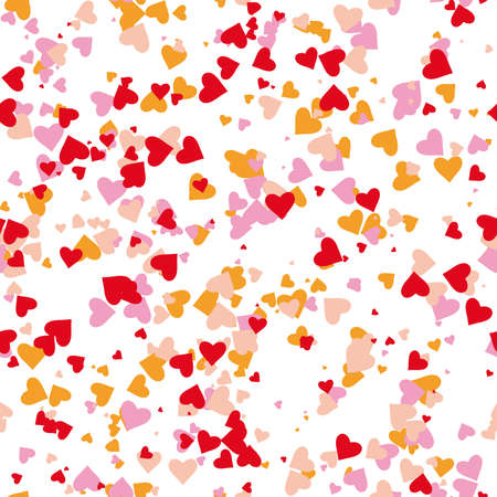 seamless hearts pattern. Stock Vector - 2319788
