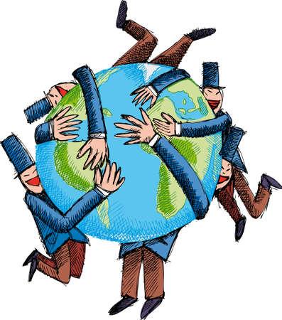 capitalismo: El verdadero deseo del capitalismo: el capit�n mundo