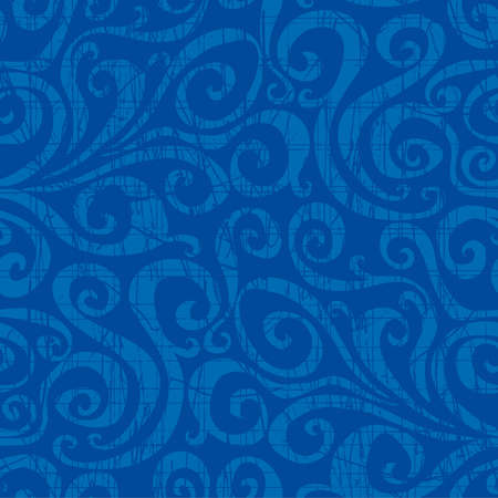 Seamless swirls pattern. Select all the art and drop it into your swatches palette to create the pattern in Adobe Illustrator.