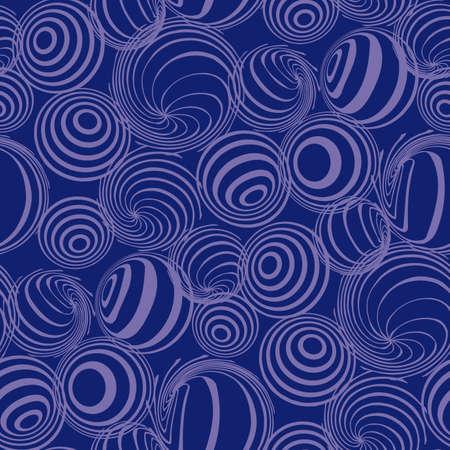 Seamless balls pattern Vector