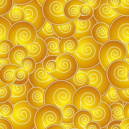 shell pattern: Chinese like swirl seamless pattern