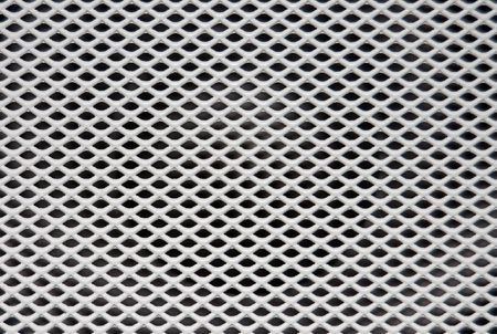 White painted speaker grille texture Stock Photo - 2120823