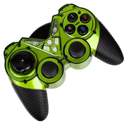 Kontroler gier wideo, odizolowane na białym tle