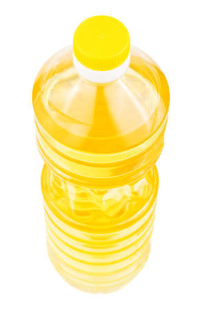 Bottle of sunflower oil isolated on a white background Stock Photo - 6843807