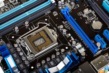 Modern motherboard Stock Photo - 8899987