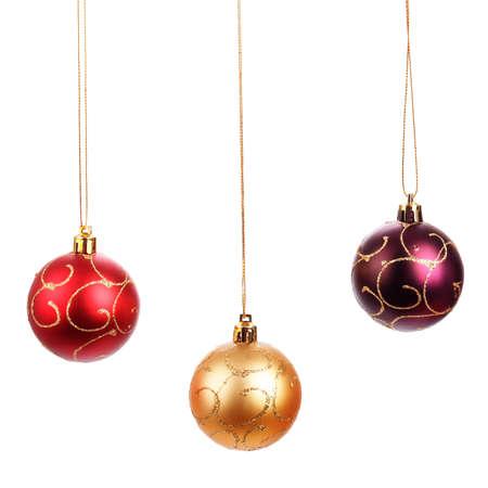 Beautiful christmas balls Standard-Bild