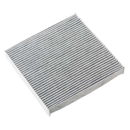 Cabin carbon filter for car, isolated on white background