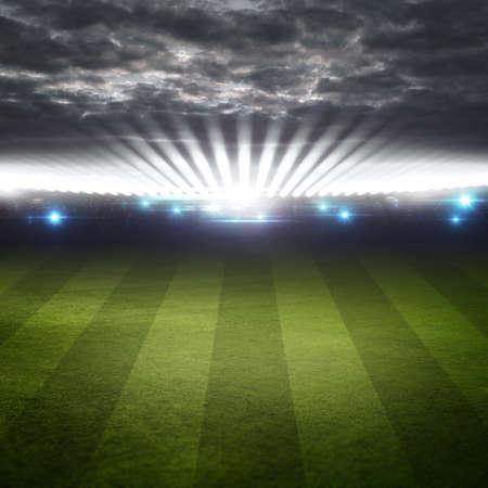campo di calcio: Stadio ad alta risoluzione