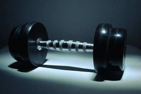 dumbbell lightbrush-2  photo
