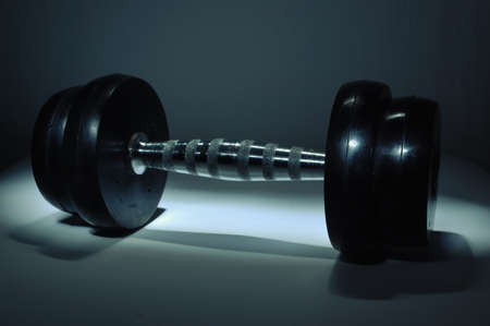 dumbbell lightbrush-3  photo