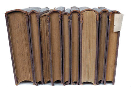 stack of books isolated  Stock Photo - 12725214