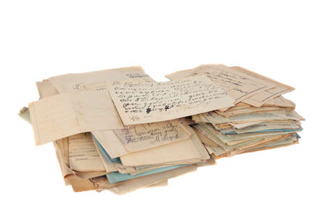 stack of documents Stock Photo - 12722427