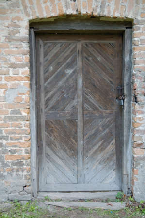 wooden door Stock Photo - 13629064