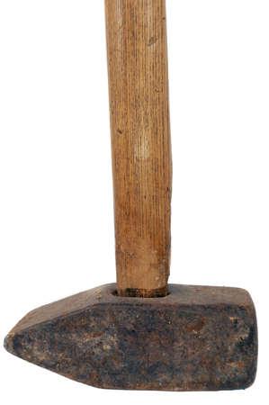 sledgehammer: sledgehammer isolated Stock Photo