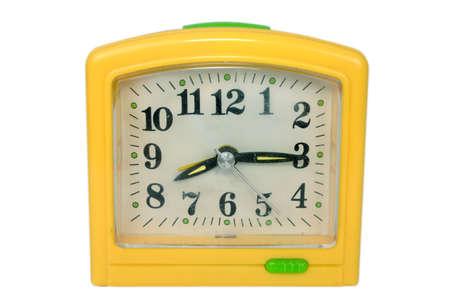 alarm clock isolated photo