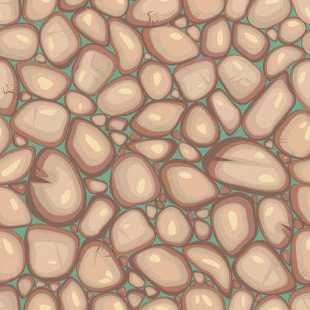 flint: vector seamless pebble