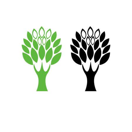 tree logo 5 Vector