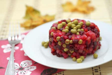 mishmash: salad mishmash Stock Photo