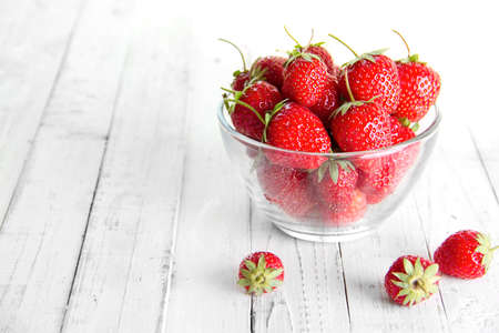 many strawberries, place for text
