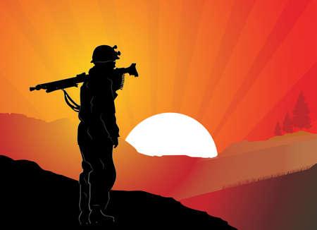 Soldier Stock Vector - 17176673