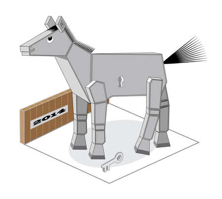 pacing: Foal Illustration