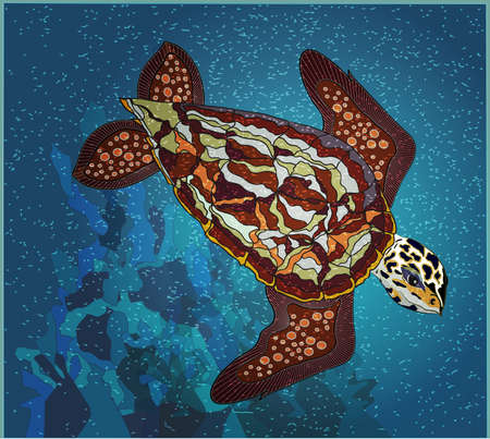 Seaturtle Stock Vector - 24894456