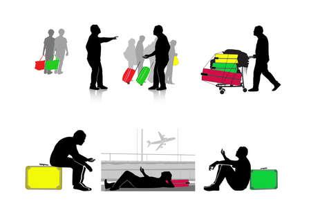 passengers: passengers Illustration