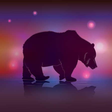 gait: big brown bear