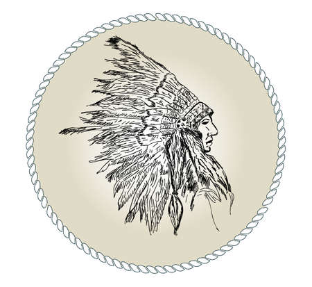 Head Indian chief