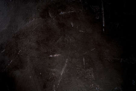 Black stone concrete table, background, copy space, empty,  top view
