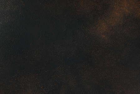 Black rusty concrete background, copy space